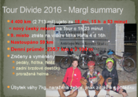 Tour Divide 2016 – Margl finish summary